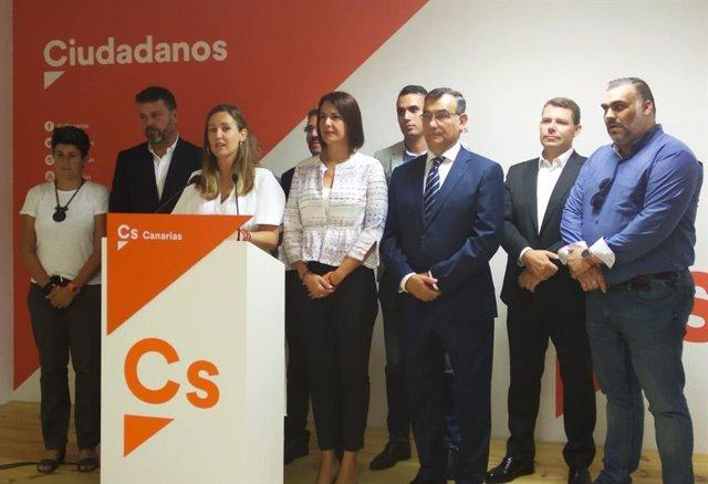 La candidata de Cs al Congrés, Melisa Rodríguez