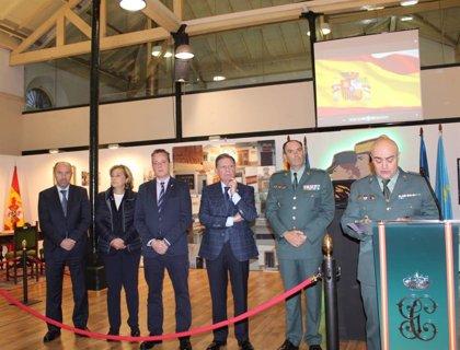Inaugurada en Oviedo la exposición 'La Guardia Civil, 175 años a tu lado'