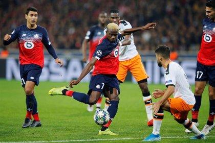 El Lille amarga sobre la 'bocina' al Valencia