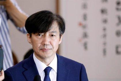 Detienen a la mujer del exministro de Justicia de Corea del Sur por un caso de corrupción