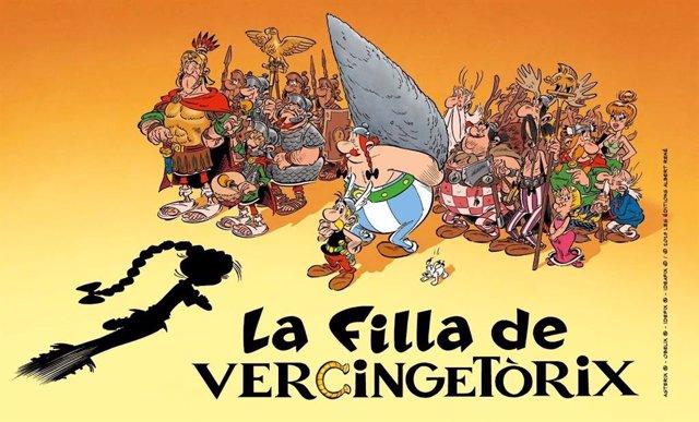 """Astérix y Obélix regresarán junto a una """"rebelde"""" adolescente en 'La filla de Vercingetrix'"""