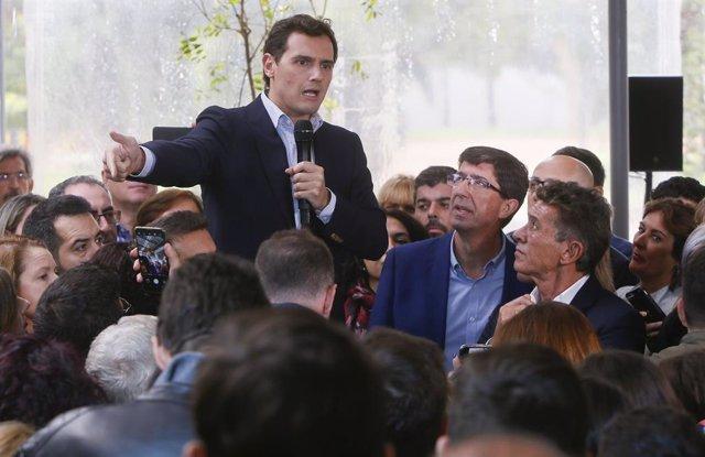 Albert Rivera amb Juan Marín.