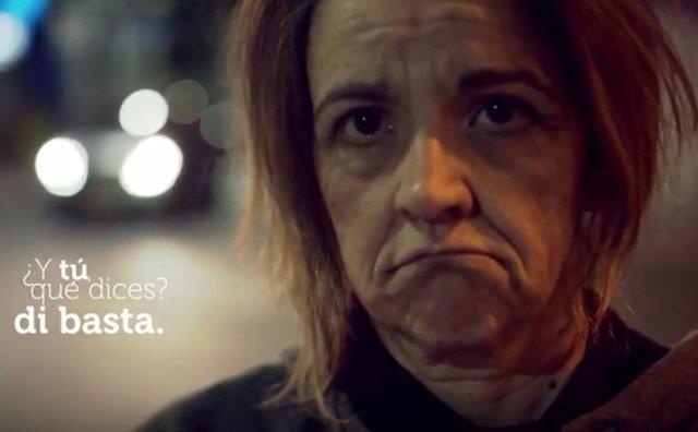 Captura vídeo de la campaña  Nadie Sin Hogar
