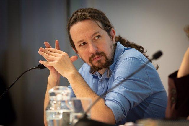 El líder de Podem, Pablo Iglesias, a Barcelona