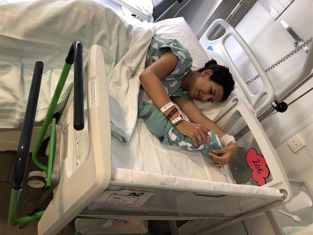 Cuna co-lecho en el Hospital de Sant Pau de Barcelona