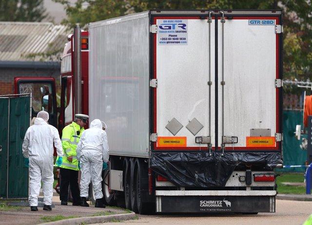 Camió amb 39 morts trobat a Essex (Regne Unit)