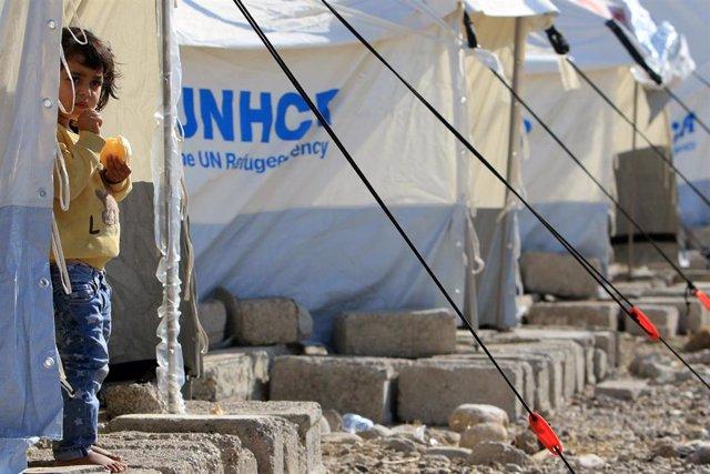 Campo de refugiados de Bardarash, en Irak