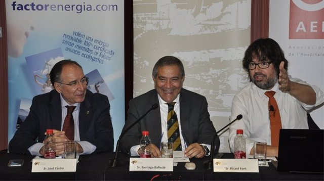 El president de FGC, Ricard Font.
