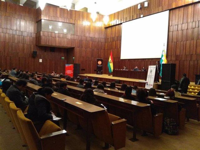Bolivia.- Los ministros de Justicia y Exteriores de Bolivia defienden al TSE y r