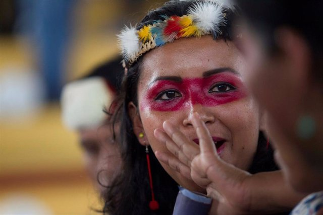 Indígenas waorani de Ecuador