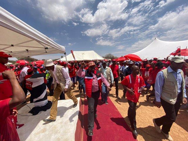 El partido gubernamental de Botsuana gana con el 51 por ciento de los votos las elecciones generales