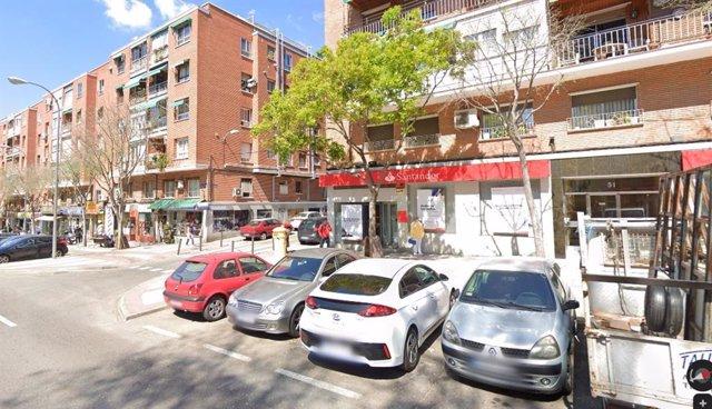 Imagen de recurso de la calle José Hierro, en el distrito de Ciudad Lineal de Madrid.