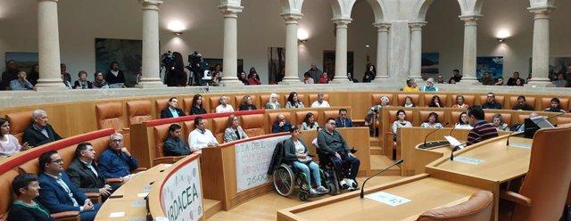 Acto en el Parlamento de La Rioja con motivo del Día Mundial del Daño Cerebral Adquirido