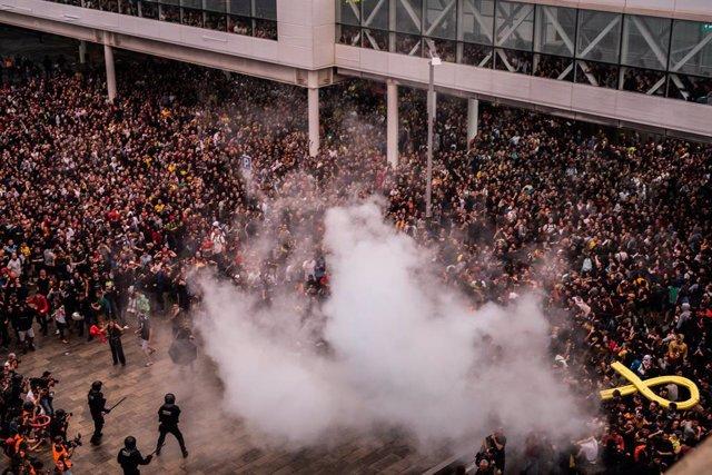 Fútbol.- Tsunami Democràtic anuncia una nueva movilización para el día del Clási
