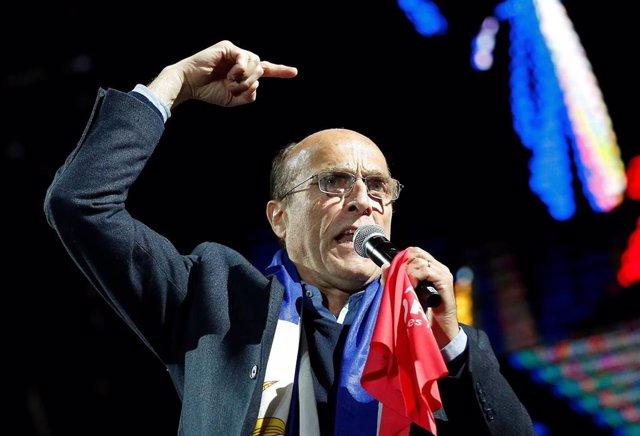 El candidato oficialista de Uruguay, Daniel Martínez