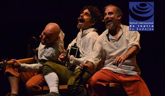 Tryo Teatro Banda pone en escena el domingo en Badajoz la obra juglaresca 'Pedro