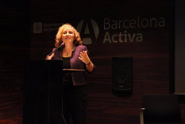 La directora de Barcelona Activa, Sara Berbel.