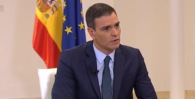 Entrevista a LaSexta al president del Govern espanyol, Pedro Sánchez