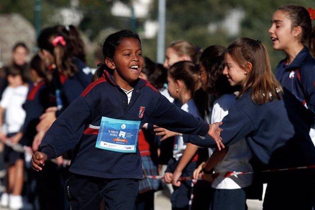 La Vuelta al Cole contra la leucemia infantil, organizada por la Fundación Unoentrecienmil