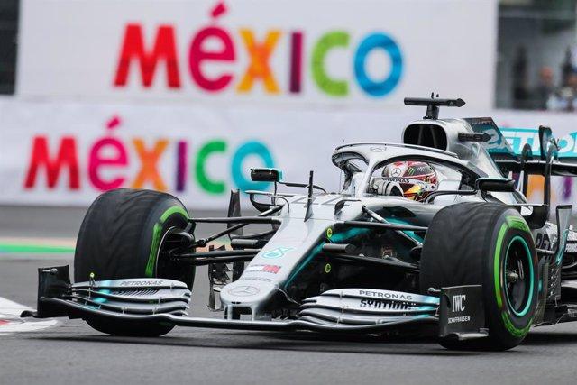 Fórmula 1/GP México.- Hamilton domina el inicio en México con permiso de Ferrari