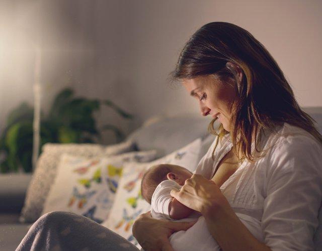 Cuando baja la producción de leche en la lactancia materna