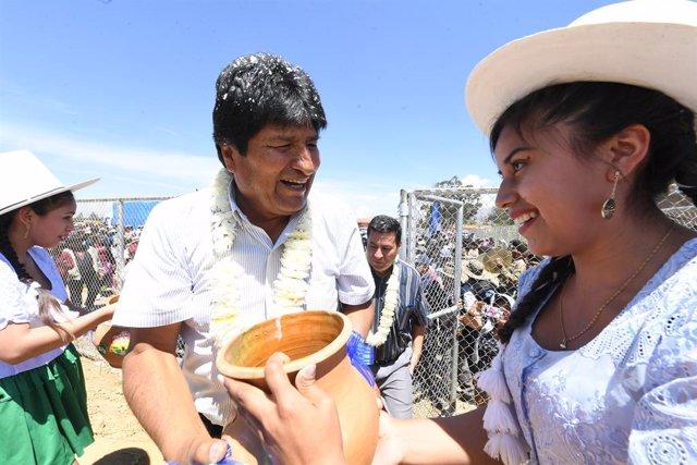 """Bolivia.- España """"toma nota"""" de los resultados que dan la victoria a Morales per"""