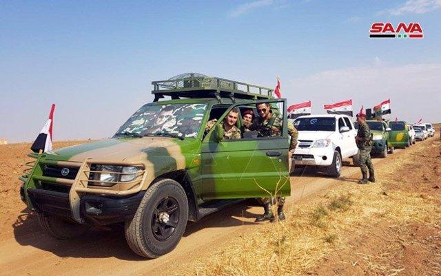 Siria.- El Ejército sirio se despliega en ocho nuevas localidades de la frontera