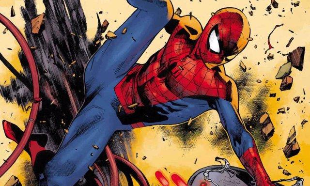 Portada del número 2 del Spider-Man de J.J. Abrams