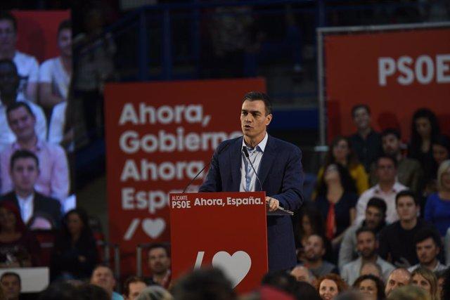 El president del Govern en funcions, Pedro Sánchez.