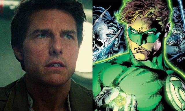 Tom Cruise... ¿Como Green Lantern?