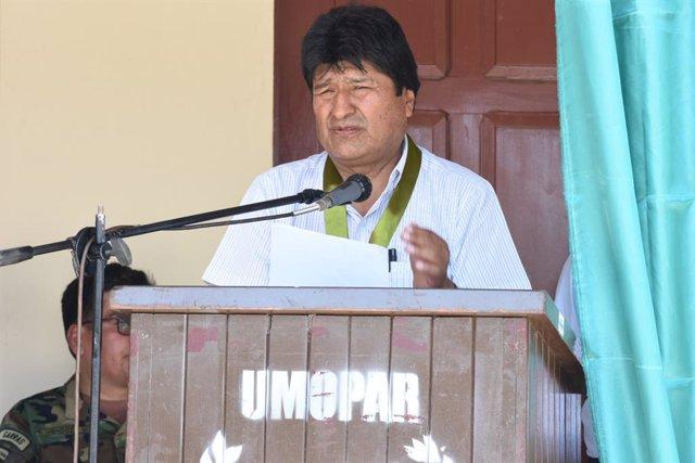 Bolivia.- Evo Morales asegura que si se demuestra el fraude, convocará segunda v