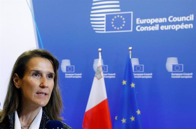 La ministra de Finanzas belga, Sophie Wilmès