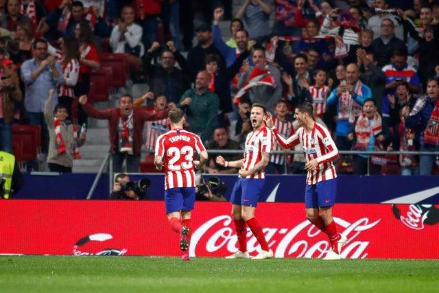 Fútbol/Primera.- Crónica del Atlético de Madrid - Athletic Club, 2-0