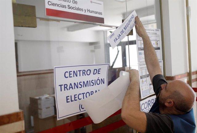 Apertura de colegios en Argentina