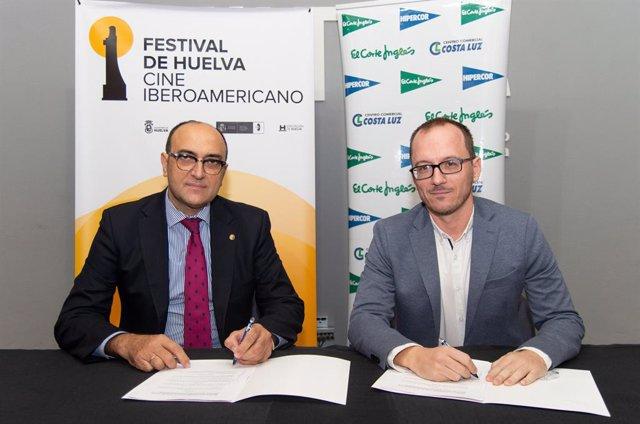 Huelva.- El Corte Inglés e Hipercor renuevan su apoyo al Festival de Cine Iberoa