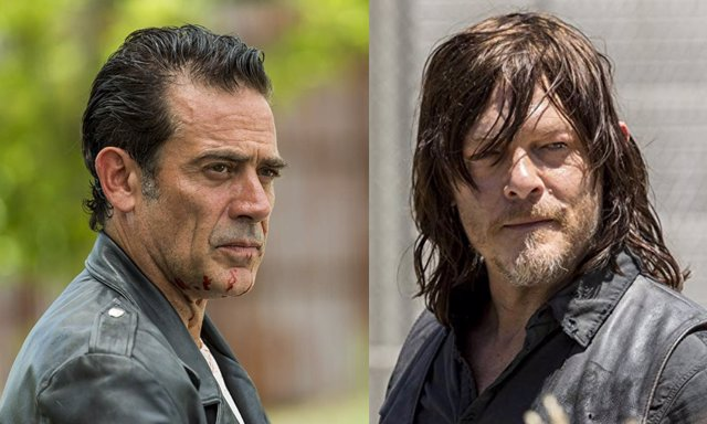Negan y Daryl, enfrentados en The Walking Dead