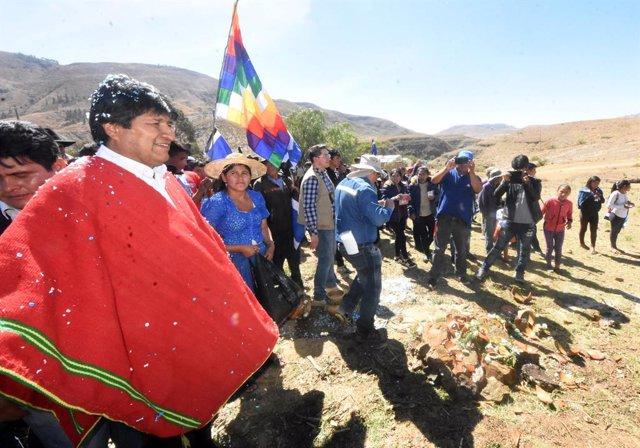 Bolivia.- Evo Morales acusa a Mesa de alentar el odio a los indígenas