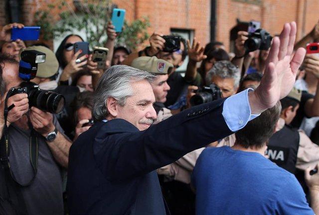 El candidato 'kirchnerista' Alberto Fernández