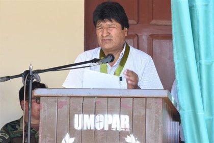 Argentina.- Evo Morales da la enhorabuena a Alberto Fernández tras la derrota de Macri en Argentina