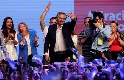 """Argentina.- Alberto Fernández tras ganar las elecciones: """"Vamos a hacer la Argentina que nos merecemos"""""""
