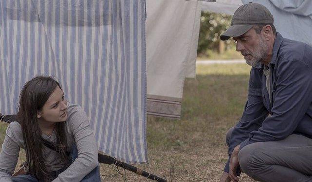 Negan en la décima temporada de The Walking Dead