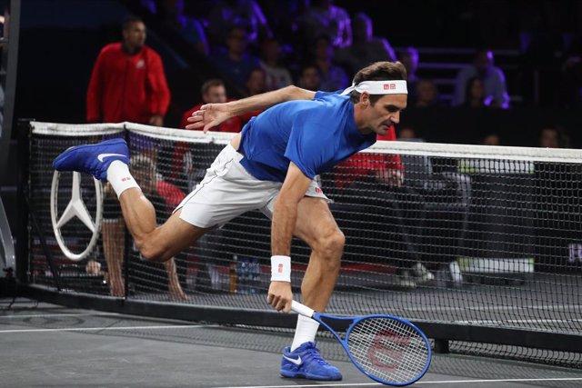 Tenis/París-Bercy.- El suizo Roger Federer se da de baja del Masters 1.000 de Pa