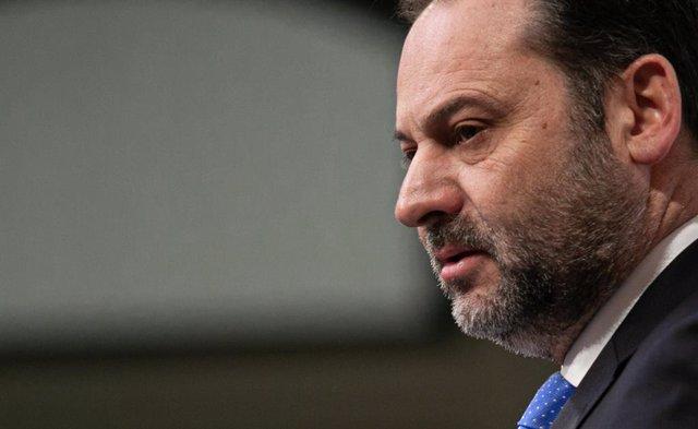 El secretari d'Organització del PSOE i ministre de Foment en funcions, José Luis Ábalos.