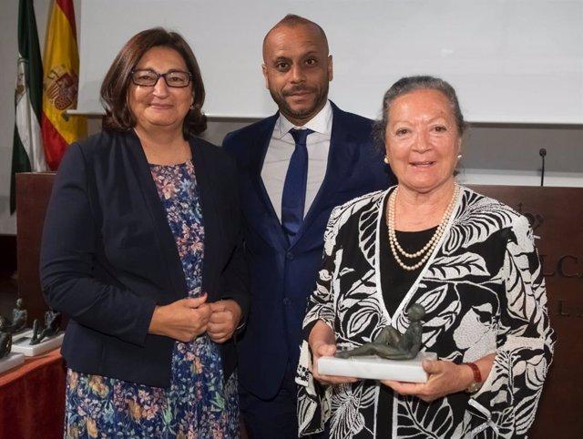 Elsa López recibe el Premio Emilio Castelar a la Defensa de las Libertades y el Progreso de los Pueblos