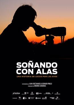 Cartel del documental sobre ornitología 'Soñando con alas'.