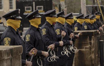 Watchmen explica por qué los policías llevan máscaras
