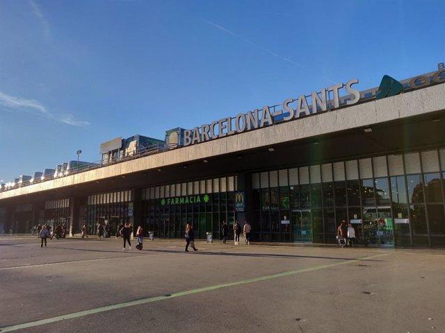 Estació de Sants, a Barcelona