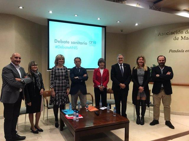 Debate organizado por ANIS sobre sanidad