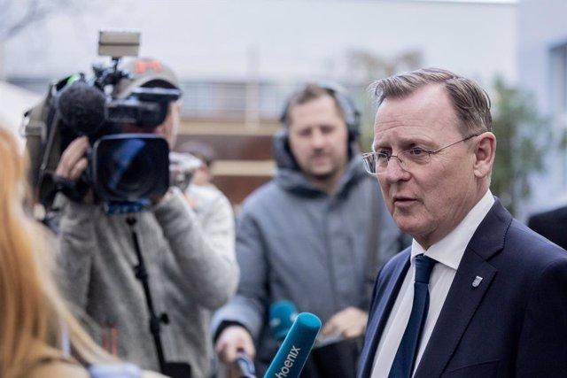 """Alemania.- La Izquierda dice que el balón de una posible coalición en Turingia """""""