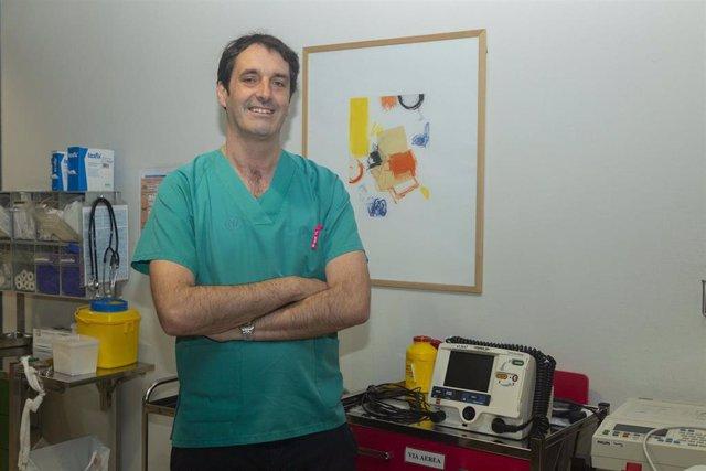 Enrique Palacio, neurólogo de Valdecilla